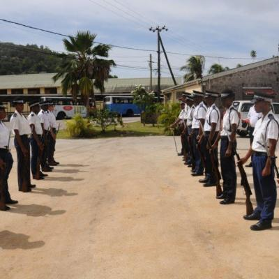 Opening of new Anse Aux Pins Police Station