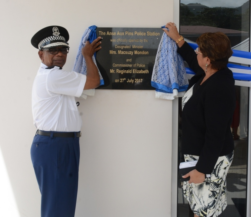 New Anse aux Pins police station more work conducive and community-friendly