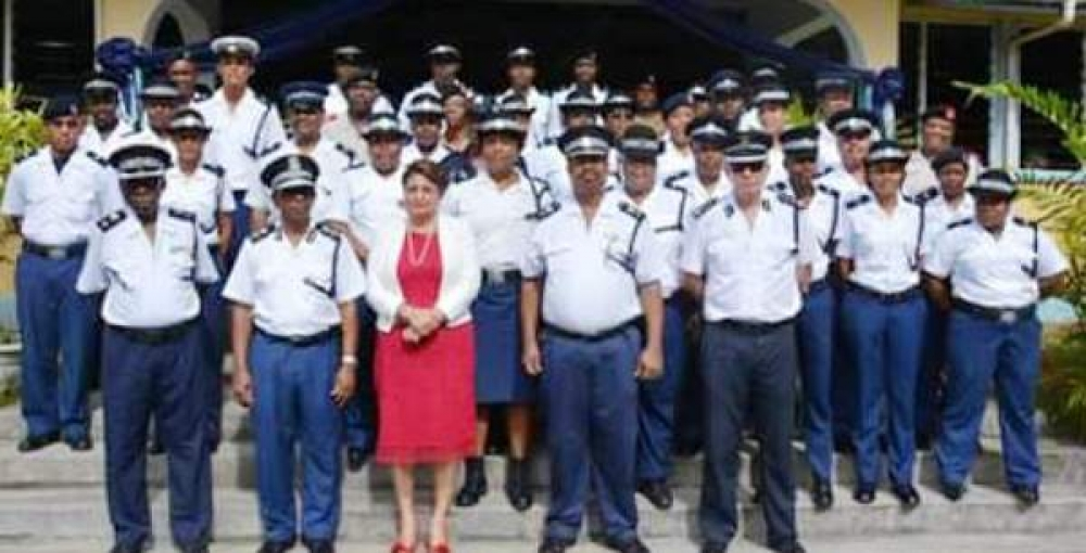 109 police officers promoted
